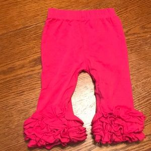 Other - Pink Ruffle Pants
